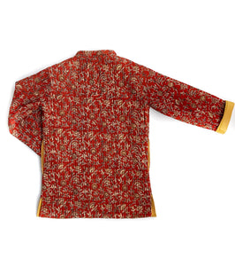 Red Chandur Jacket
