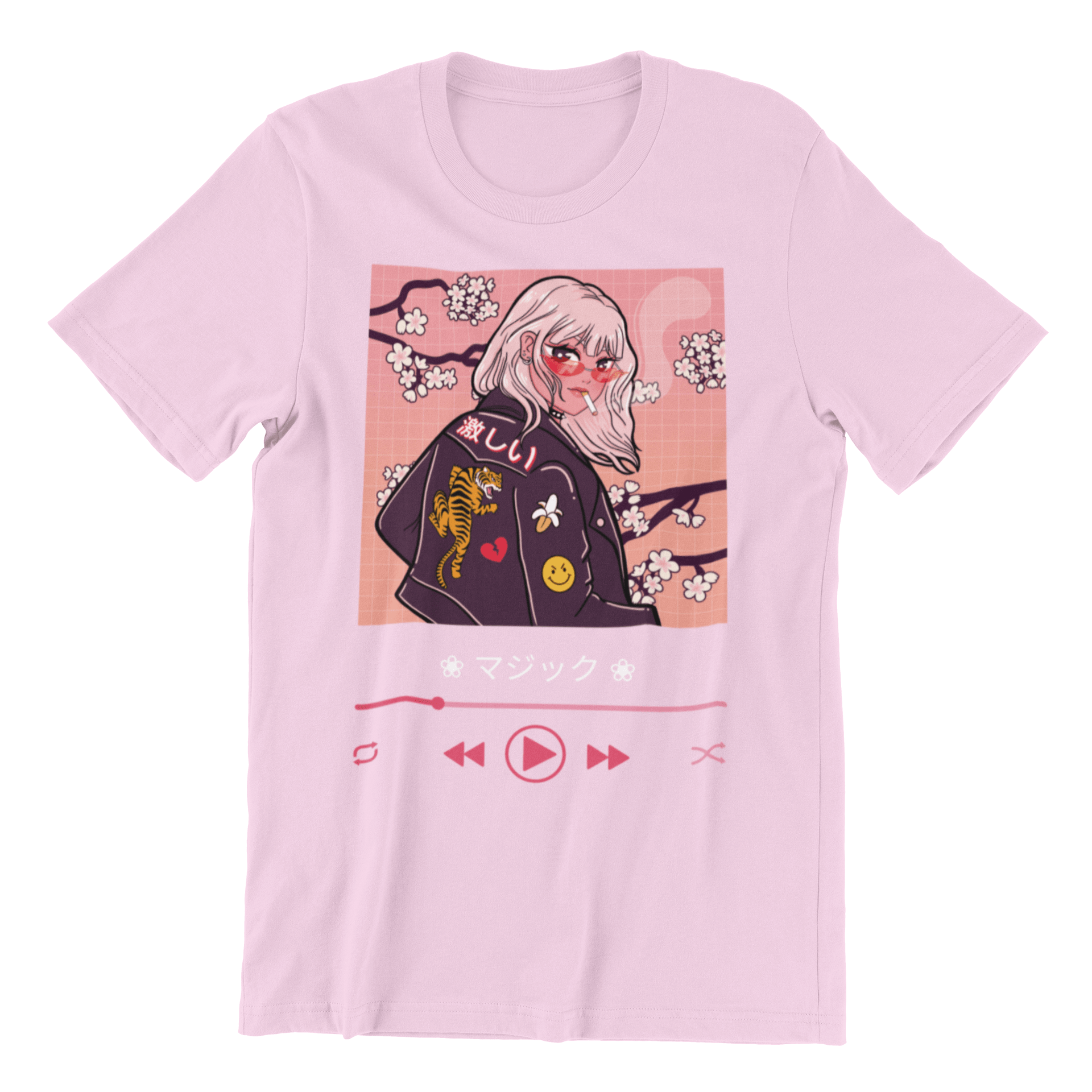 Anime Player Tee - Majikku - Just Asian Things