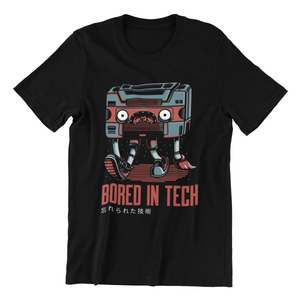 Bored in Tech Tee - Just Asian Things