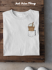 Bubble Tea Pocket Tee - Just Asian Things