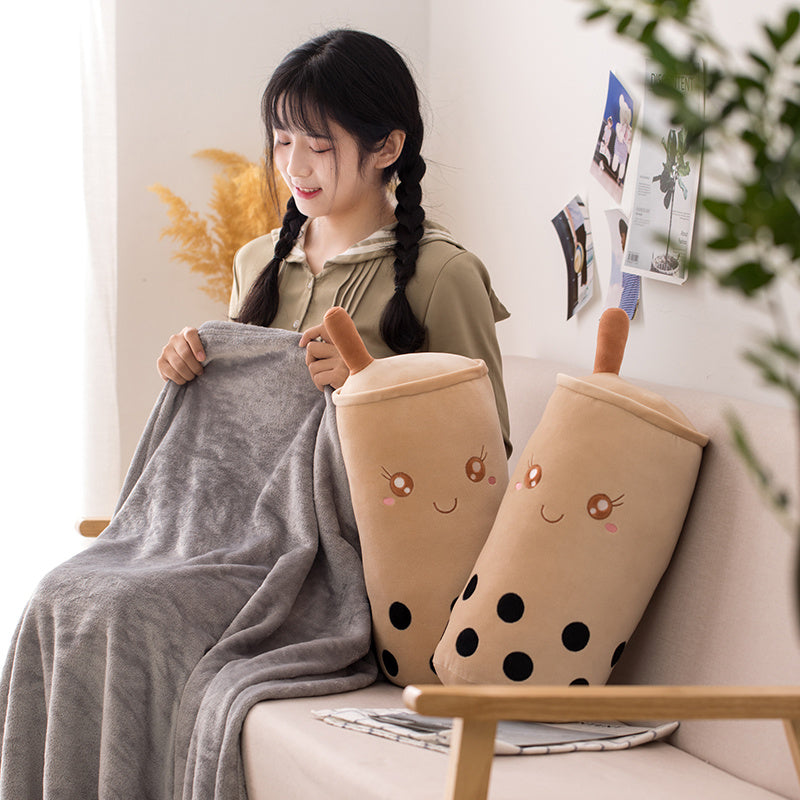 2 in 1 Bubble Tea Blanket Set - Just Asian Things