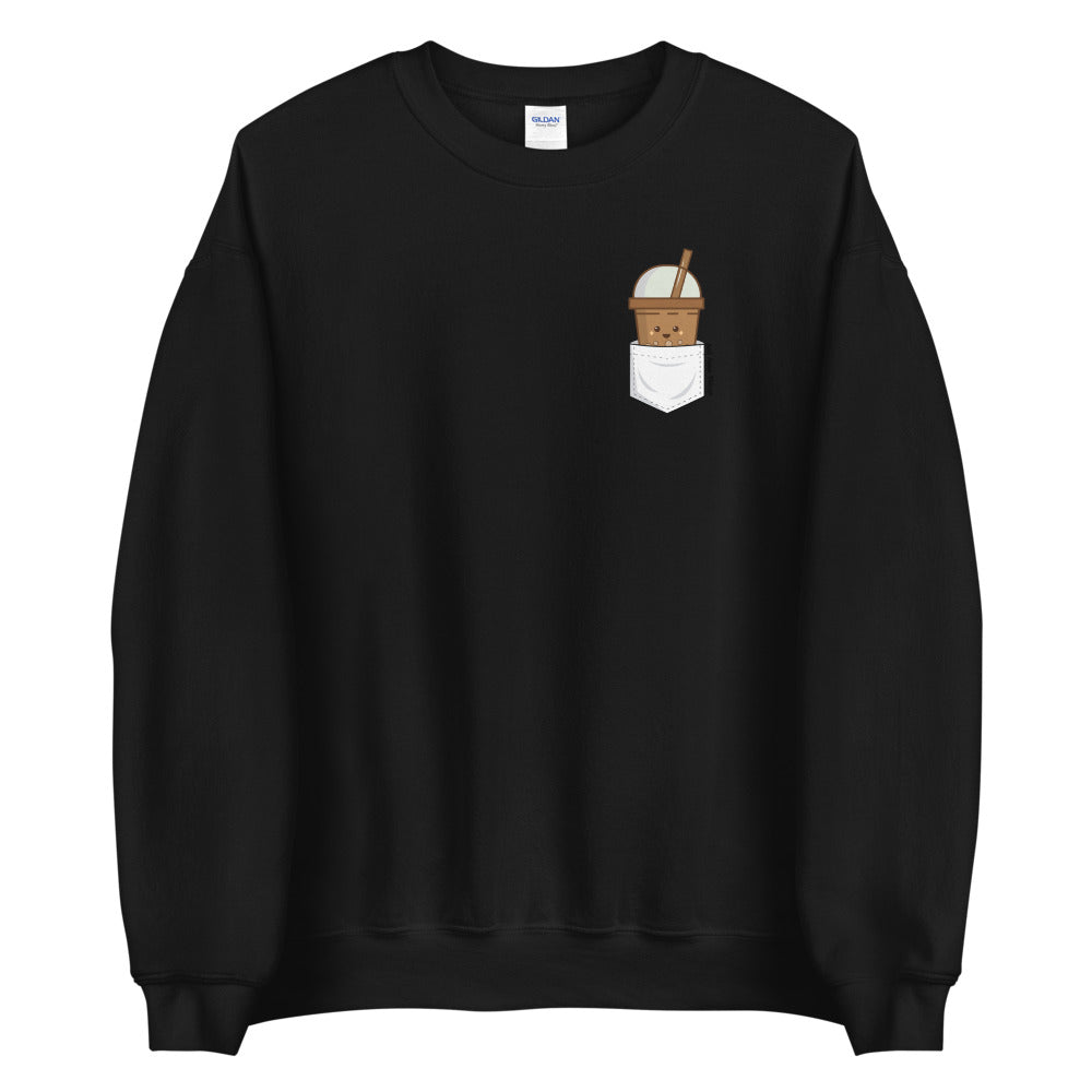 Bubble Tea Pocket Sweatshirt - Just Asian Things