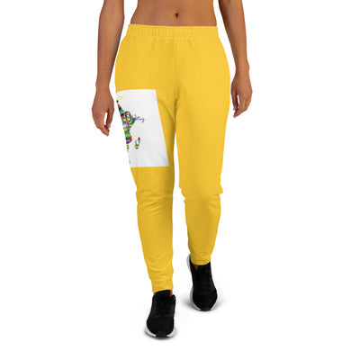 Women's Africa Gld Joggers