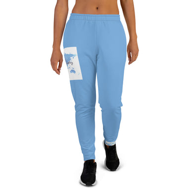 Women's World blu Joggers