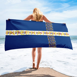 IRAP Code Beach Towel