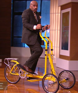 StreetStrider outdoor elliptical bike steve harvey show