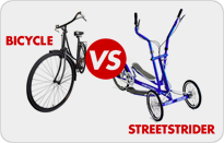 The StreetStrider Burns More Calories Than A Conventional Bicycle February 2011