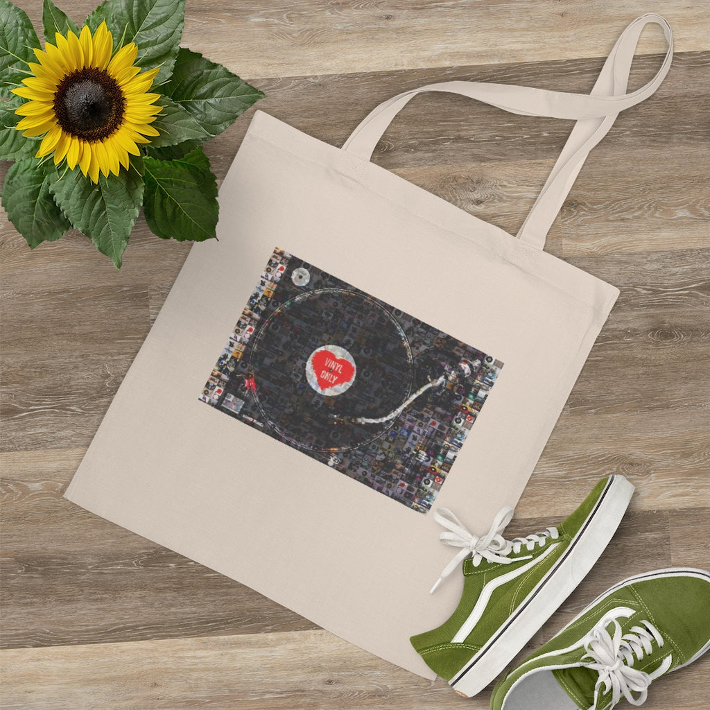 VINYL ONLY - RECORD PLAYER - TOTE BAG