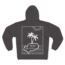 Load image into Gallery viewer, SESH ISLAND HOODIE BACK PRINT