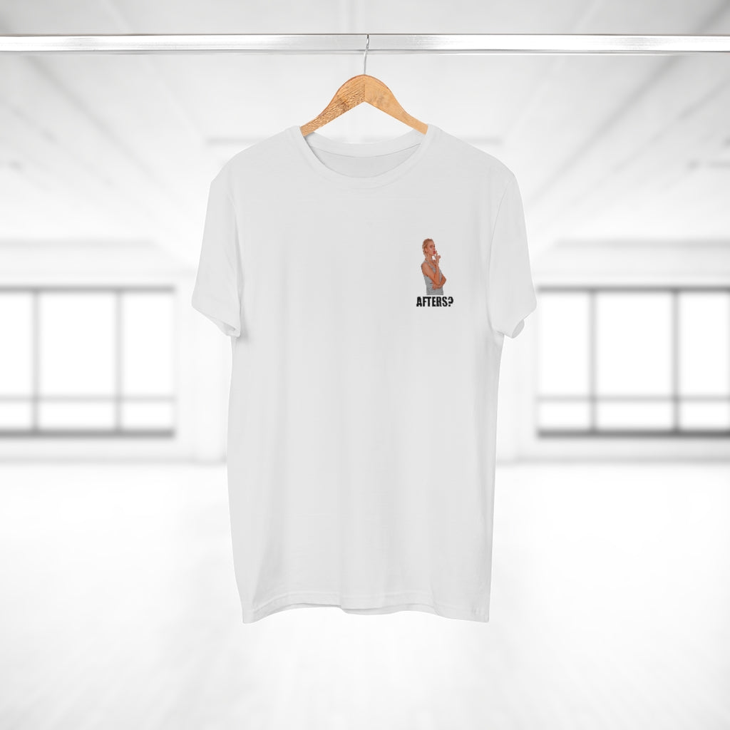 AFTERS? - WHITE T-SHIRT
