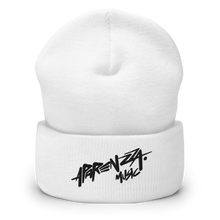Load image into Gallery viewer, APARENZZA MUSIC EMBROIDERY BEANIE BLACK LOGO
