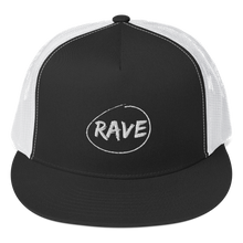 Load image into Gallery viewer, RAVE TRUCKER CAP