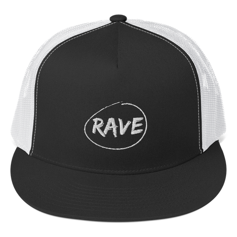 RAVE - NETTED TRUCKER CAP