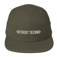 Load image into Gallery viewer, DETROIT TECHNO FIVE PANEL CAP