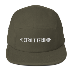 DETROIT TECHNO FIVE PANEL CAP