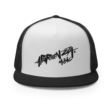 Load image into Gallery viewer, APARENZZA MUSIC MESH CAP BLACK LOGO