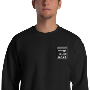 EMBROIDERY FEELING WAVY SWEATSHIRT