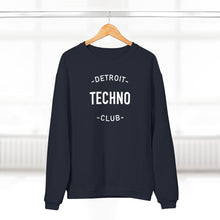 Load image into Gallery viewer, DETROIT TECHNO CLUB SWEATSHIRT