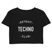 Load image into Gallery viewer, DETROIT TECHNO CROP TOP