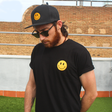 Load image into Gallery viewer, ACID HOUSE SMILEY FACE T-SHIRT