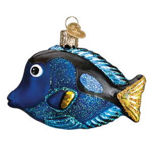 Pacific Blue Tang 12504 Old World Christmas Ornament