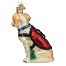 Load image into Gallery viewer, Service Dog 12547 Old World Christmas Ornament