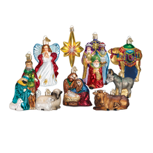 Load image into Gallery viewer, Nativity Collection 14020 Old World Christmas Ornaments