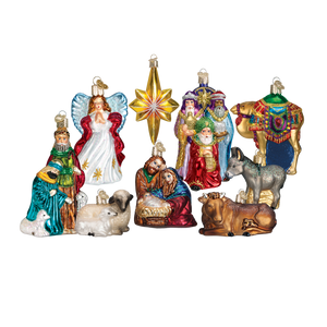 Nativity Collection 14020 Old World Christmas Ornaments