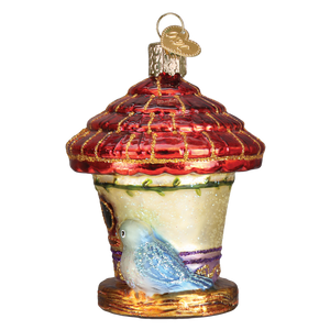 Charming Birdhouse 16108 Old World Christmas Ornament