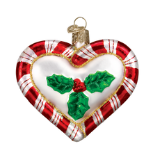 Load image into Gallery viewer, Peppermint Heart 30020 Old World Christmas Ornament