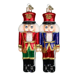 Soldier Nutcracker 44041 Old World Christmas Ornament Assorted
