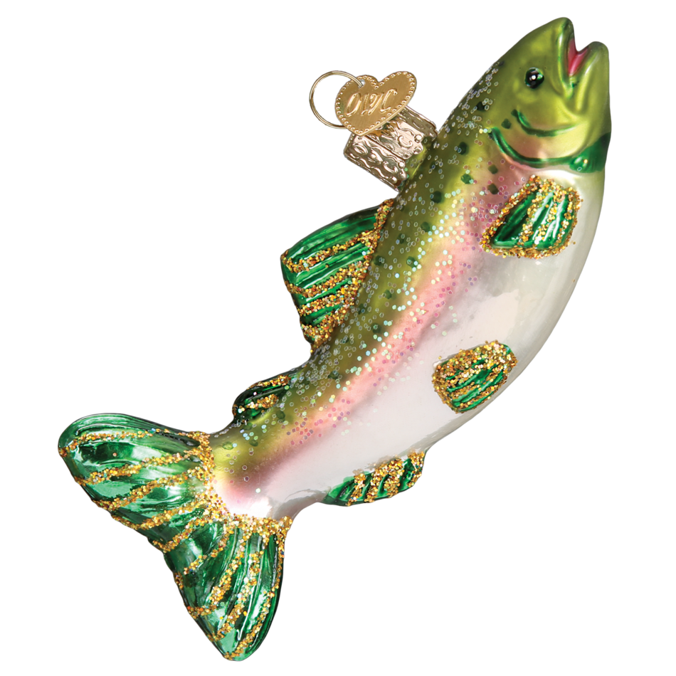 Alpine Rainbow Trout 12494 Old World Christmas Ornament