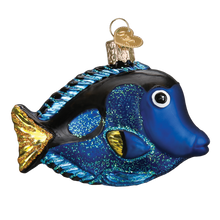 Load image into Gallery viewer, Pacific Blue Tang 12504 Old World Christmas Ornament