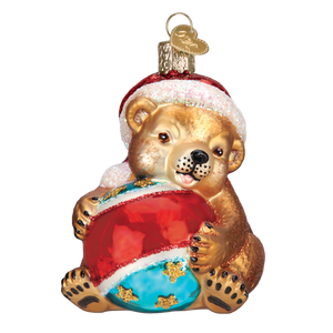 Playful Cub 12533 Old World Christmas Ornament