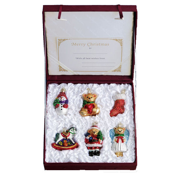 Child's First Christmas Boxed Set 14012 Old World Christmas Ornaments