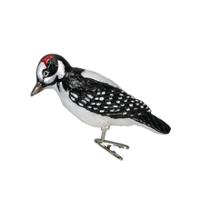 Load image into Gallery viewer, Hairy Woodpecker 18039 Old World Christmas Clip On Ornament