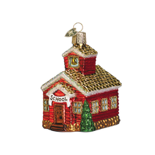 Load image into Gallery viewer, School House 20007 Old World Christmas Ornament
