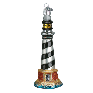 Cape Hatteras Lighthouse 20017 Old World Christmas Ornament