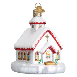Country Church 20095 Old World Christmas Ornament
