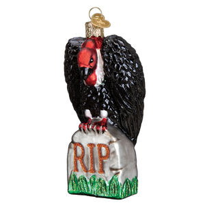Halloween Vulture 2682 Old World Christmas Ornament