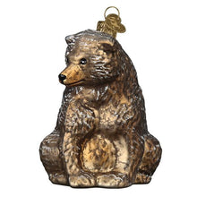 Load image into Gallery viewer, Vintage Bear 51013 Old World Christmas Ornament