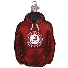 Load image into Gallery viewer, Alabama Hoodie 60103 Old World Christmas Ornament