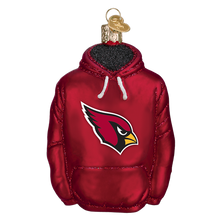 Load image into Gallery viewer, Arizona Cardinals Hoodie 70103 Old World Christmas Ornament