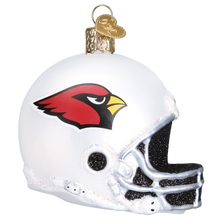 Load image into Gallery viewer, Arizona Cardinals Helmet 70117 Old World Christmas Ornament