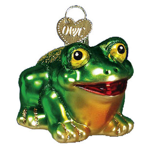 Hop-Along Frog 12166 Old World Christmas