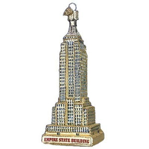 Empire State Building 20059 Old World Christmas Ornament