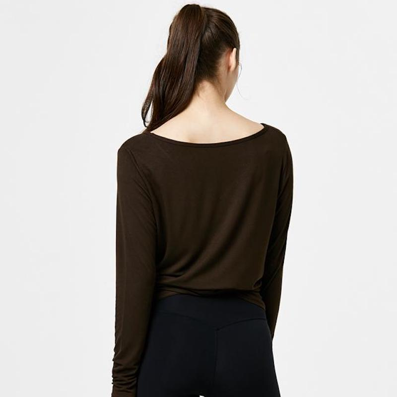 Twisty Long Sleeve #2-Way Silky Sleeve