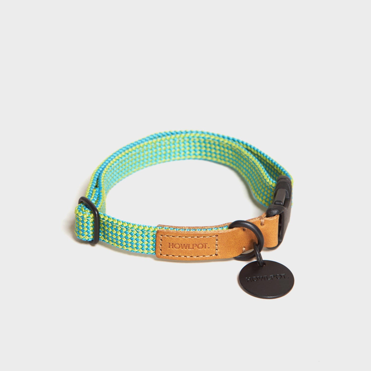[Howlpot] We Are Tight Ribbon Collar - Palm Tree