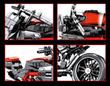 Motorcycle Model Building Blocks