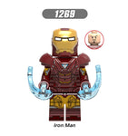 Captain America Thor Iron Man Minifigures Blocks